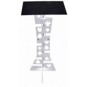 TABLE – HARBIN FLIP OPEN – SILVER