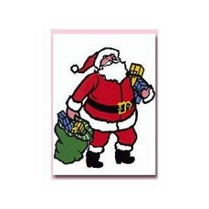CHRISTMAS ART – SANTA INSERT