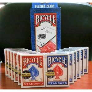 BICYCLE CARDS –  POKER SIZE – ONE DOZEN
