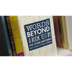 WORDS BEYOND A BOOK TEST