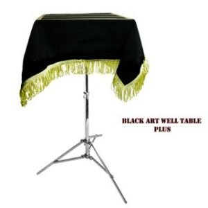 TABLE – BLACK ART MOVING WELL