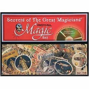 MAGIC KIT – SECRETS OF THE GREAT MAGICIANS – ROYAL
