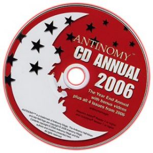 ANTINOMY ANNUAL – YEAR 2 2006 ON CD