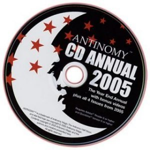 ANTINOMY ANNUAL – YEAR 1 2005 ON CD