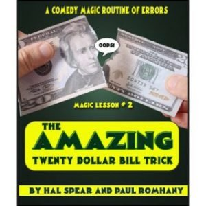AMAZING TWENTY DOLLAR BILL TRICK