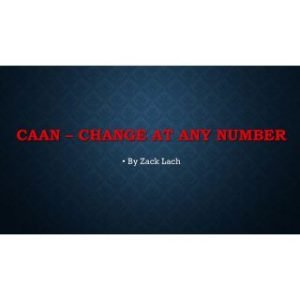 CAAN – CHANGE AT ANY NUMBER BY ZACK LACH ON DIGITAL DOWNLOAD