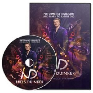 LEARN TO JUGGLE BY NIELS DUINKER ON DVD