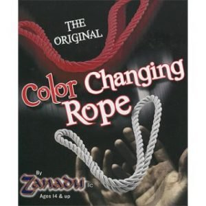 AMAZING COLOR CHANGING ROPE – RED TO WHITE