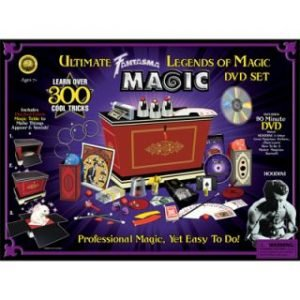 MAGIC KIT – ULTIMATE LEGENDS OF MAGIC WITH DVD