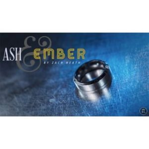 ASH AND EMBER SILVER BEVELED SIZE 10 – 2 RINGS