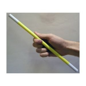 WAND – YELLOW BODY WHITE TIPS