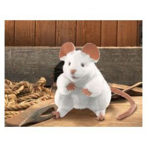 PUPPET WHITE MOUSE