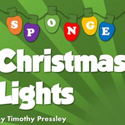 CHRISTMAS LIGHTS – SUPER-SOFT SPONGE