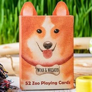 ZOO 52 – WOOF WHISKERS PLAYING CARDS