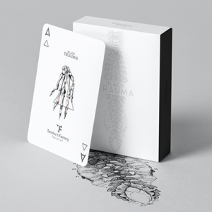 BLACK TRAUMA – WHITE EDITION PLAYING CARDS