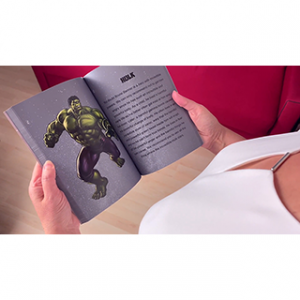 SUPER HERO BOOK TEST – HULK