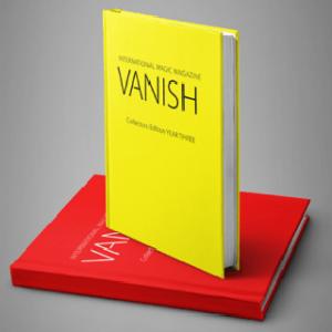 VANISH MAGIC MAGAZINE COLLECTORS EDITION YEAR THREE – HARDCOVER