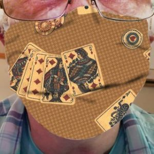 CLOTH FACE MASK – VINTAGE PLAYING CARDS