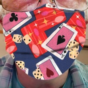 CLOTH FACE MASK – PLAYING CARDS 02