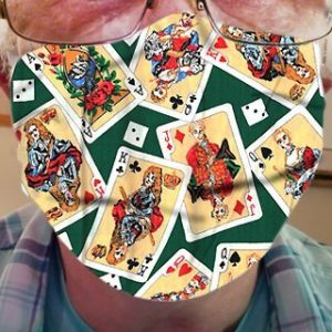 CLOTH FACE MASK – PLAYING CARDS 03