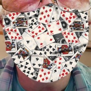 CLOTH FACE MASK – PLAYING CARDS 01