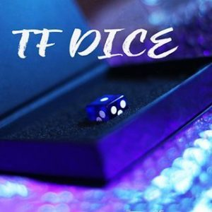 TF DICE – TRANSPARENT FORCING DICE – BLUE